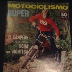 Coches y Motocicletas: REVISTA MOTOCICLISMO PRIMERA QUINCENA ENERO 1975 MOTOCATALOGO 75. Lote 106064368