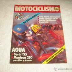 Coches y Motocicletas: MOTOCICLISMO N. 693 DERBI 125, MONTESA 250 ... Lote 52826552