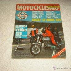 Coches y Motocicletas: MOTOCICLISMO N. 692 . GUZZI LE MANS 850. Lote 52826608
