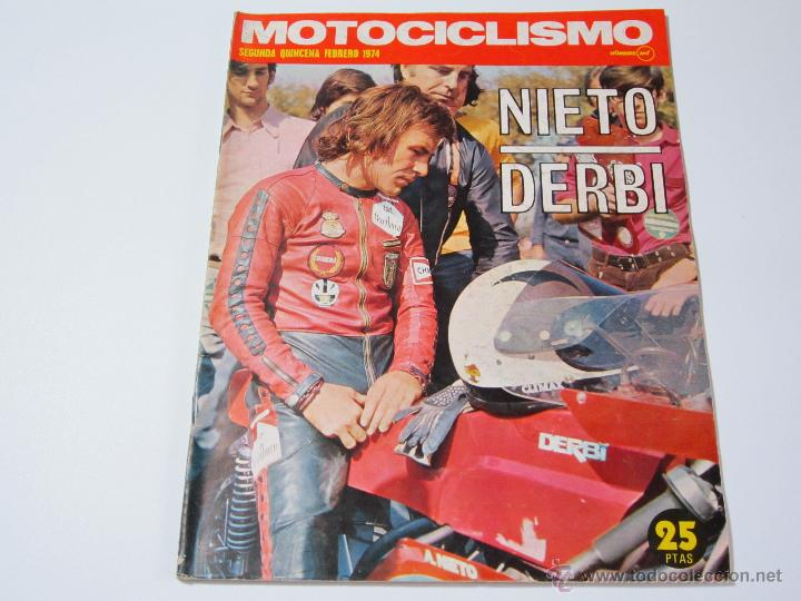 MOTOCICLISMO SEGUNDA QUINCENA FEBRERO 1974 (Coches y Motocicletas - Revistas de Motos y Motocicletas)