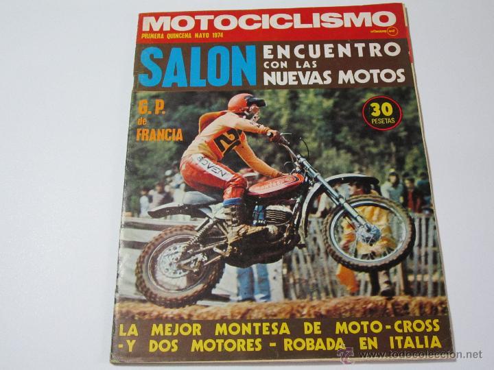 MOTOCICLISMO PRIMERA QUINCENA MAYO 1974 (Coches y Motocicletas - Revistas de Motos y Motocicletas)