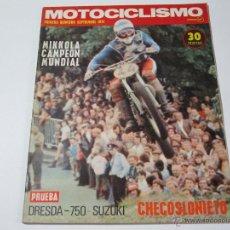 Coches y Motocicletas: MOTOCICLISMO PRIMERA QUINCENA SEPTIEMBRE 1974. Lote 52926296