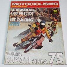 Coches y Motocicletas: MOTOCICLISMO PRIMERA QUINCENA MARZO 1975. Lote 52927665
