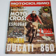 Coches y Motocicletas: MOTOCICLISMO PRIMERA QUINCENA ABRIL 1975. Lote 52927716