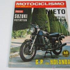 Coches y Motocicletas: MOTOCICLISMO PRIMERA QUINCENA JULIO 1975. Lote 52928023