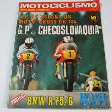 Coches y Motocicletas: MOTOCICLISMO PRIMERA QUINCENA SEPTIEMBRE 1975. Lote 52948979