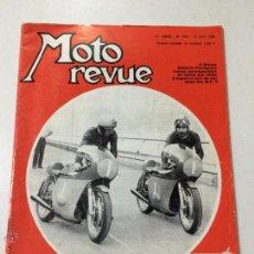 Coches y Motocicletas: REVISTA MOTO REVUE ,NUMERO 1945, 13 SEPTIEMBRE 1969, MONTESA TRIAL, MOTO CROSS DES NATIONS.. Lote 53461214