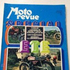 Coches y Motocicletas: REVISTA MOTO REVUE, NUMERO ESPECIAL, 30 JUNIO 1972, NUMERO 2083, LAVERDA 750, GUZZI 850, YAMAHA 200.. Lote 53461481