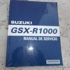 Coches y Motocicletas: MANUAL DE SERVICIO SUZUKI GSX-R1000,AÑO 2003, 426 PAGINAS, EN CASTELLANO. Lote 53463165