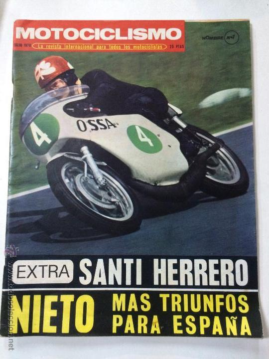 Revista motociclismo julio 1970 poster angel n comprar - Herrero online particulares ...