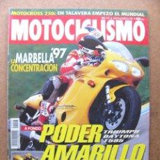 Coches y Motocicletas: MOTOCICLISMO Nº 1517 TRIUMPH DAYTONA T595 YAMAHA XVS 650 DRAG STAR HONDA CBR 900 RR INNOTECH. Lote 53573584