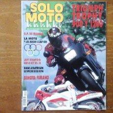 Coches y Motocicletas: SOLO MOTO N°843 JULIO 1992. Lote 53652254