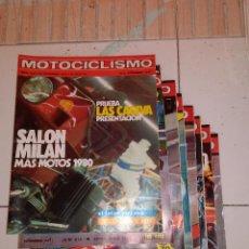 Coches y Motocicletas: LOTE DE 8 REVISTAS MOTOCICLISMO 1979.. Lote 53835046