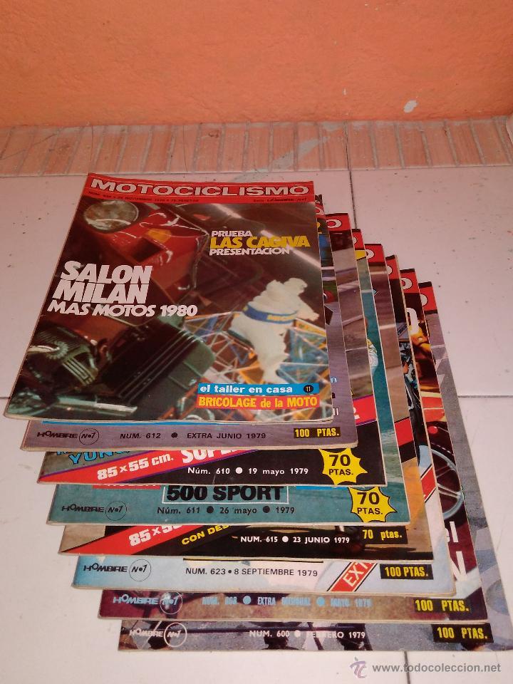 Coches y Motocicletas: Lote de 8 revistas Motociclismo 1979. - Foto 2 - 53835046