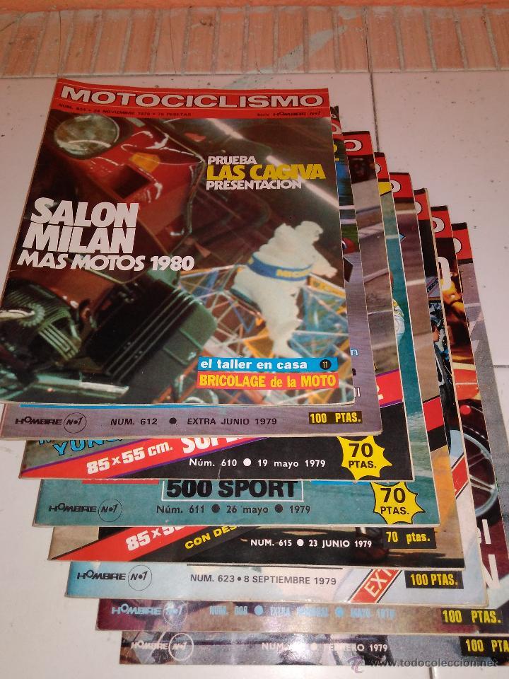 Coches y Motocicletas: Lote de 8 revistas Motociclismo 1979. - Foto 3 - 53835046