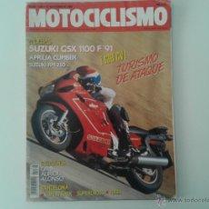Coches y Motocicletas: MOTOCICLISMO NOV.90 SUZUKI GSX 1100 F. APRILIA CLIMBER. SUZUKI RM 250. TRIUMPH. HONDA PANEUROPEAN. Lote 54085562