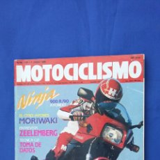 Coches y Motocicletas: MOTOCILISMO JUN´90 KAWASAKI GPZ 900 - HONDA VISION - GAC MTR - MECATECNO CHIC FUNNY - MORIWAKI. Lote 54248126