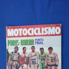 Coches y Motocicletas: MOTOCICLISMO ENERO´91 GILERA RC - SUZUKI RMX - GAS GAS - APRILIA - JJ COBAS - PARIS DAKAR. Lote 54248491