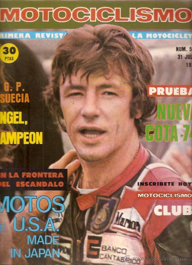 REVISTA MOTOCICLISMO Nº 521 1977 PRUEBA MONTESA COTA 74 (Coches y Motocicletas - Revistas de Motos y Motocicletas)