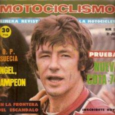 Coches y Motocicletas: REVISTA MOTOCICLISMO Nº 521 1977 PRUEBA MONTESA COTA 74. Lote 54390636