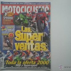 Coches y Motocicletas: MOTOCICLISMO ENE´00 BULTACO ASTRO - DUCATI MONSTER 900 - BMW - SUZUKI BURGMAN - MONTESA - OSSA. Lote 54465578