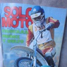 Coches y Motocicletas: REVISTA SOLO MOTO ENCUADERNADA DESDE NUMERO 41 JUNIO 1976 AL 51 AGOSTO 1976 OSSA MONTESA BULTACO. Lote 54568368