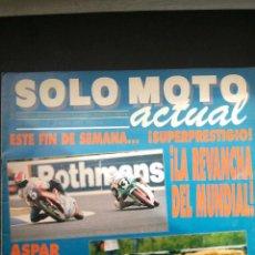 Coches y Motocicletas: SOLO MOTO ACTUAL Nº 650-1988-JOAN GARRIGA-KTM-TARRES-SALON DE COLONIA-LAVERDA-MONTESA-(VER FOTOS). Lote 54621008