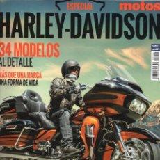 Coches y Motocicletas: MOTOS 2000 ESPECIAL N. 2 - HARLEY-DAVIDSON, 34 MODELOS AL DETALLE (NUEVA). Lote 54986462