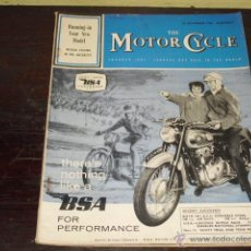 Coches y Motocicletas: THE MOTOR CYCLE Nº 3050 AÑO 1961 - BROOKLANDS- TRIUMPH TGER CUB 199C.C. . Lote 55056097