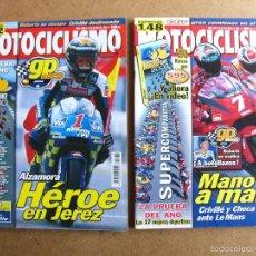 Coches y Motocicletas: MOTOCICLISMO Nº 1680 1681 COMPARATIVA COMPLETA MASTER BIKE 2000. Lote 55331633