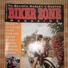 Coches y Motocicletas: BIKER ZONE MAGAZINE. AGOSTO 95 ; Nº 25. Lote 55859131