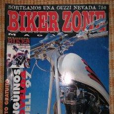 Coches y Motocicletas: BIKER ZONE MAGAZINE. FEBRERO 97 ; Nº 43 + RADICAL BIKES. VOL. 1 ; Nº 3. Lote 55859219