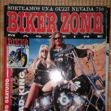 Coches y Motocicletas: BIKER ZONE MAGAZINE. ABRIL 97 ; Nº 45 + RADICAL BIKES. VOL. 1 ; Nº 4. Lote 55861127