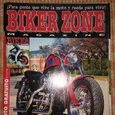 Coches y Motocicletas: BIKER ZONE MAGAZINE. JUNIO 97 ; Nº 47 + RADICAL BIKES. VOL. 1 ; Nº 5. Lote 55861150
