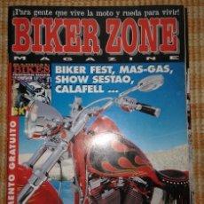 Coches y Motocicletas: BIKER ZONE MAGAZINE. AGOSTO 97 ; Nº 49 + RADICAL BIKES. VOL. 1 ; Nº 6. Lote 55861186
