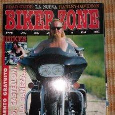 Coches y Motocicletas: BIKER ZONE MAGAZINE. OCTUBRE 97 ; Nº 51 + RADICAL BIKES. VOL. 1 ; Nº 7. Lote 55861282