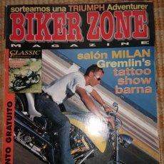 Coches y Motocicletas: BIKER ZONE MAGAZINE. NOVIEMBRE 97 ; Nº 52 + CLASSIC PERFORMANCE. VOL. 1 ; Nº 7. Lote 55861294