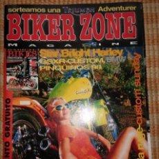Coches y Motocicletas: BIKER ZONE MAGAZINE. FEBRERO 98 ; Nº 55 + RADICAL BIKES. VOL. 1 ; Nº 9. Lote 55861362