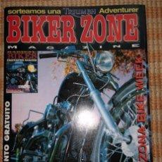 Coches y Motocicletas: BIKER ZONE MAGAZINE. ABRIL 98 ; Nº 57 + RADICAL BIKES. VOL. 1 ; Nº 10. Lote 55861381