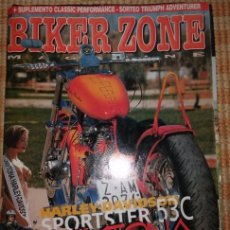 Coches y Motocicletas: BIKER ZONE MAGAZINE. MAYO 98 ; Nº 58 + CLASSIC PERFORMANCE. VOL. 1 ; Nº 10. Lote 55861391