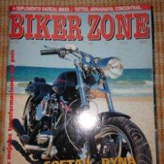 Coches y Motocicletas: BIKER ZONE MAGAZINE. JUNIO 98 ; Nº 59 + RADICAL BIKES. VOL. 1 ; Nº 11. Lote 55861431