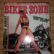 Coches y Motocicletas: BIKER ZONE MAGAZINE. AGOSTO 98 ; Nº 61 + RADICAL BIKES. VOL. 1 ; Nº 12. Lote 55861451