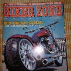 Coches y Motocicletas: BIKER ZONE MAGAZINE. SEPTIEMBRE 98 ; Nº 62 + CLASSIC PERFORMANCE. VOL. 1 ; Nº 12. Lote 55861465