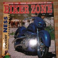 Coches y Motocicletas: BIKER ZONE MAGAZINE. OCTUBRE 98 ; Nº 63. Lote 55861477