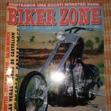 Coches y Motocicletas: BIKER ZONE MAGAZINE. NOVIEMBRE 98 ; Nº 64. Lote 55861486
