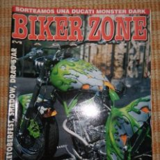 Coches y Motocicletas: BIKER ZONE MAGAZINE. DICIEMBRE 98 ; Nº 65. Lote 55861494