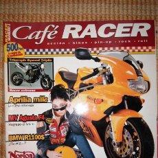 Coches y Motocicletas: CAFÉ RACER. NÚM. 1 ; NOVIEMBRE / DICIEMBRE 98. Lote 55861529
