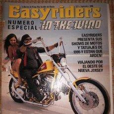 Coches y Motocicletas: EASYRIDERS : IN THE WIND. NÚMERO ESPECIAL. (267 ; SEPTIEMBRE 1995). Lote 55862218