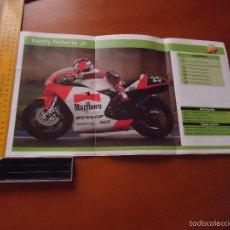 Coches y Motocicletas: CARRERAS DE MOTOS 43,5X24,5 GRAN POSTER MOTO - KENNY ROBERTS JR. . Lote 55878937