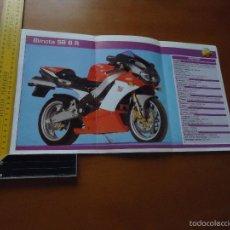 Coches y Motocicletas: CARRERAS DE MOTOS 43,5X24,5 GRAN POSTER MOTO - BIMOTA SB 8 R. Lote 55878984